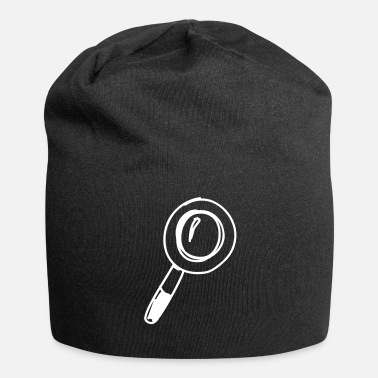 Magnifying Glass magnifying glass - Jersey Beanie