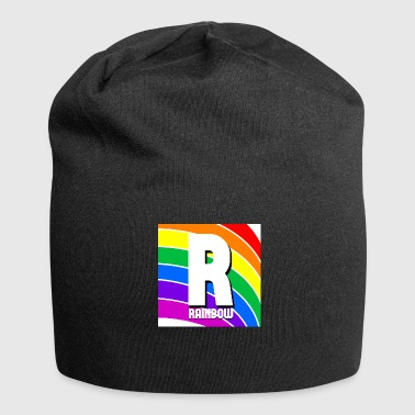 arcobaleno - Beanie in jersey