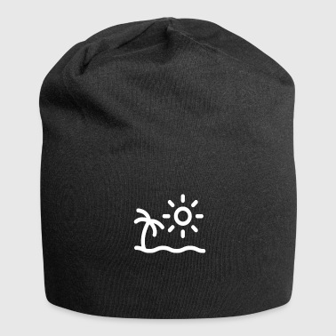 Ripe for island vacation trip travel - Jersey Beanie