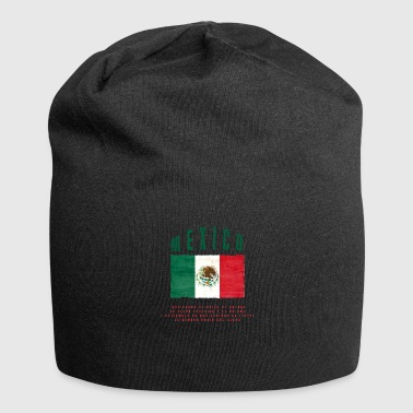 Mexicaanse vlag Bandera Mexico - Jersey-Beanie
