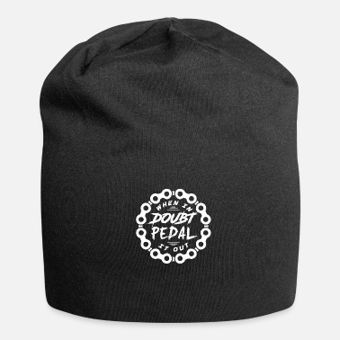 Pedal pedal - Jersey Beanie