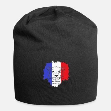 Portebonheur Lion supporter France - Bonnet en jersey