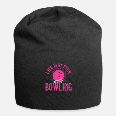Bowling Bowling Bowling Joueur Bowling - Bonnet en jersey