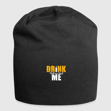 Alcohol liquor gift - Jersey Beanie