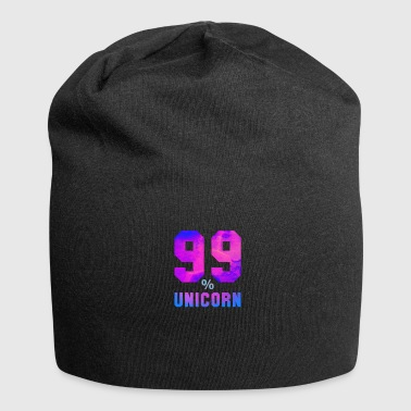 99% percent unicorn uniqueness unique - Jersey Beanie