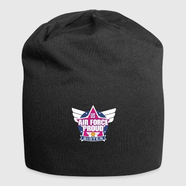 Army US Air Force Proud Sister Emblem Stars - Jersey-Beanie