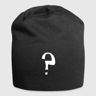 Question mark - Jersey Beanie