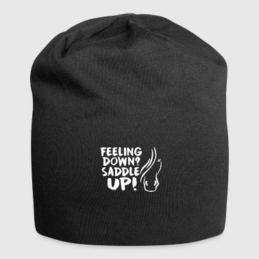 Horse Saying Saddle Up - Jersey Beanie
