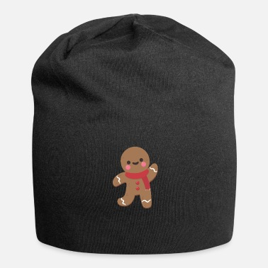 Gingerbread Man GINGERBREAD T SHIRT CHRISTMAS GIFT IDEA - Jersey Beanie