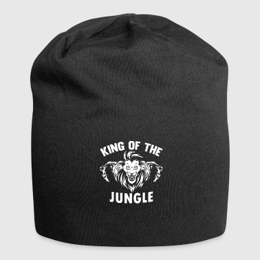 Jungle Lion jungle jungle cadeau - Jersey-Beanie