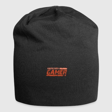 Gamer playing video game console - Jersey Beanie