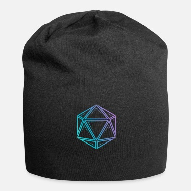 Dungeons And Dragons Tribal d20 fade - dnd dungeons and dragons - Jersey Beanie