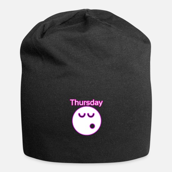 Gift Idea Caps & Hats - thursday - Beanie black