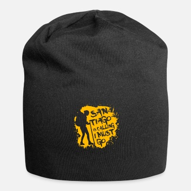 The Way Of St James Camino is calling. St. James. T-shirt tea - Jersey Beanie