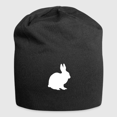 Mountain Hare A white hare in the mountains - Jersey Beanie