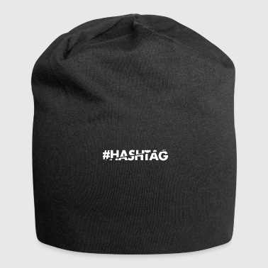 Hashtag #hashtag - Beanie in jersey