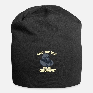 Lapsi Who are you calling grumpy? Funny Gorilla - Jersey-Beanie