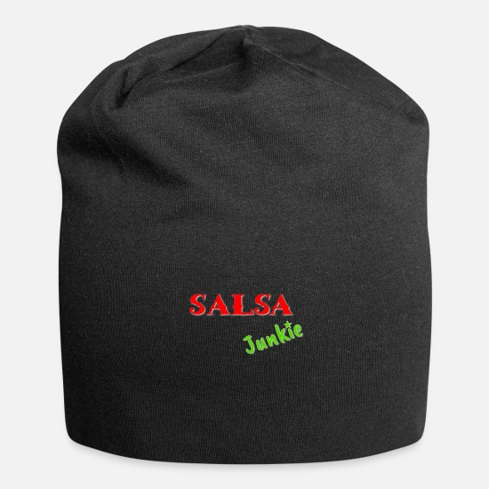 Danser Kasketter & huer - Salsa Junkie Gift Latino Dance Dancer Addicted - Beanie sort