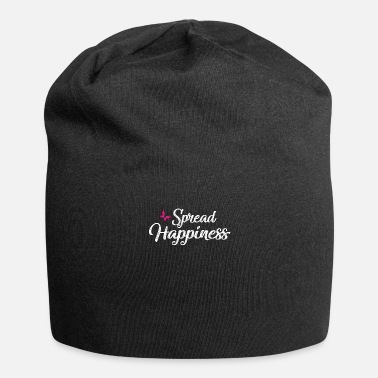 Happiness SPREAD HAPPINESS - Jersey-beanie