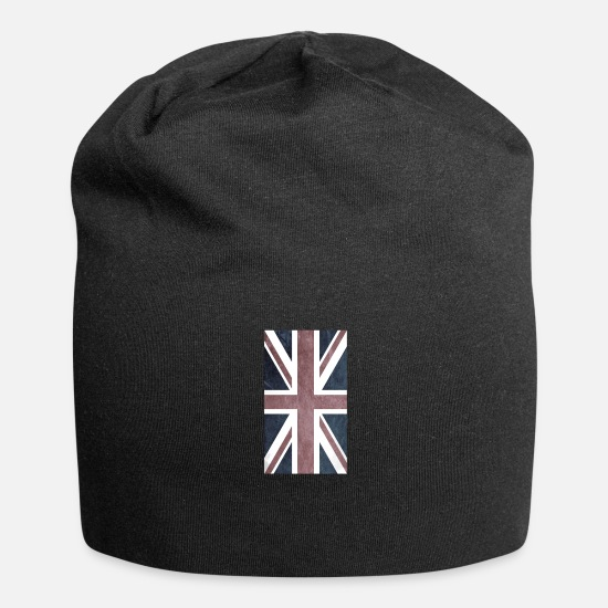 Union Caps & Hats - union jack - Beanie black