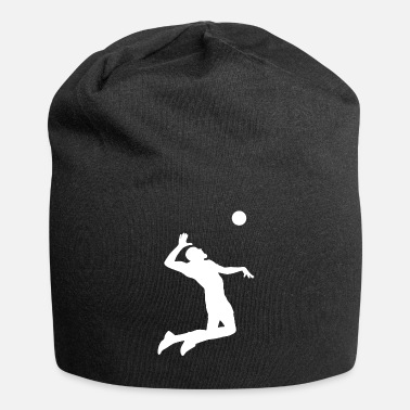 Beach Volley Joueur de beach-volley sportif - Bonnet en jersey