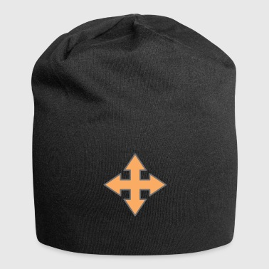 Crosses Cross - Jersey Beanie