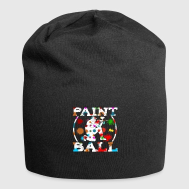 Speedball Paintball Player My Paintball Airsoft Speedball Gift - Jersey Beanie
