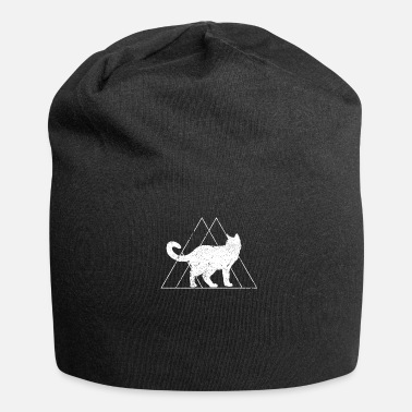 Triangle Triangle cadeau chat Maine coon pyramide animal - Bonnet en jersey