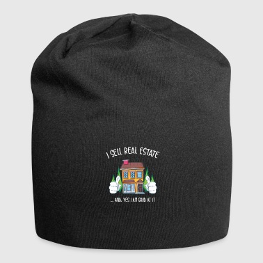Estate Agent Real Estate Agent - Real Estate Agent - Jersey Beanie
