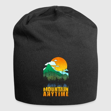 Mountain Hare Mountain Graphic Mountain Anytime Nature - Jersey Beanie