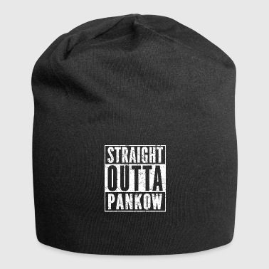 STRAIGHT OUTTA PANKOW lustiges Berlin Shirt - Jersey-Beanie