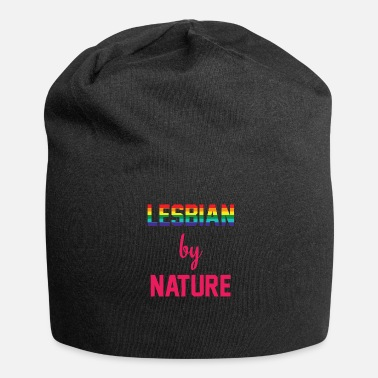 Lesbian Lesbian by Nature - Jersey Beanie
