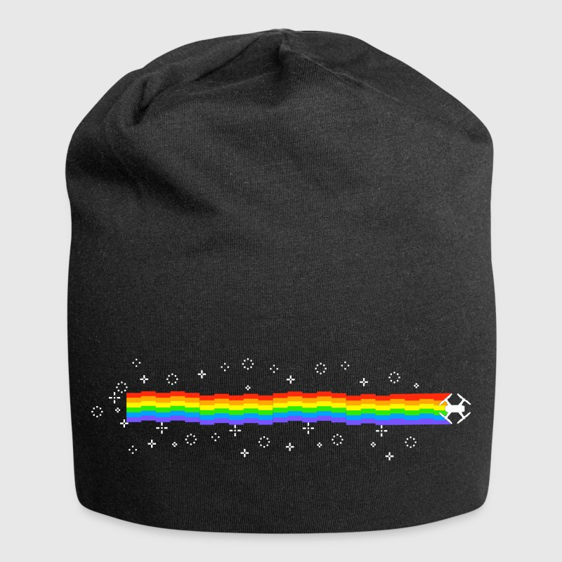 REGENBOGEN MAGIC DROHNE - Jersey-Beanie