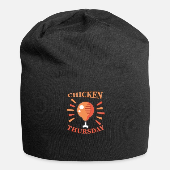 Love Caps & Hats - Fast Food - Chicken Thursday - Beanie black