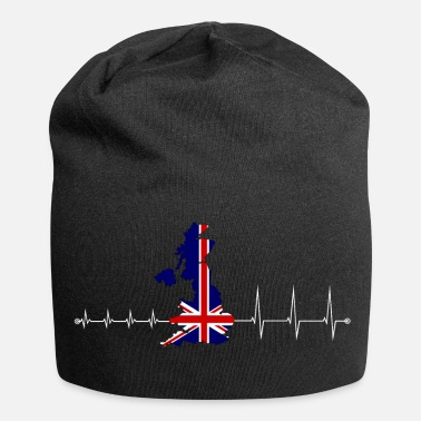 Uk Heartbeat UK - I love UK - Jersey-Beanie