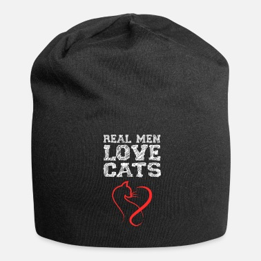 Cat Lover Cat Cats Cat Lover Cat Lover Gift - Jersey Beanie