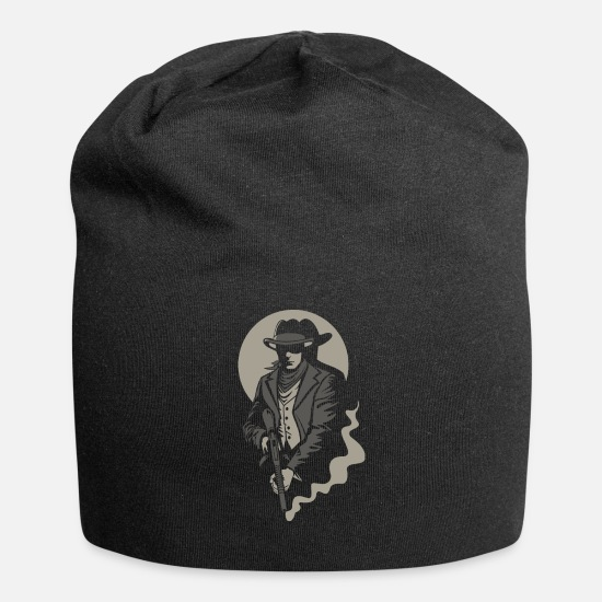 Gift Idea Caps & Hats - Chicago's gangster - Beanie black