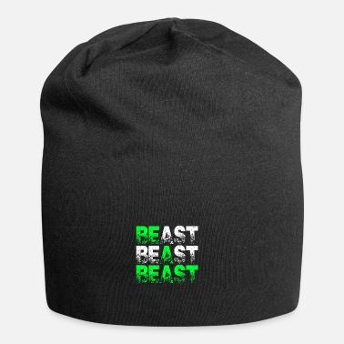Beast Beast Beast Beast Motivation - Jersey Beanie