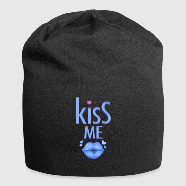 Party gag for the man Kiss me - Jersey Beanie