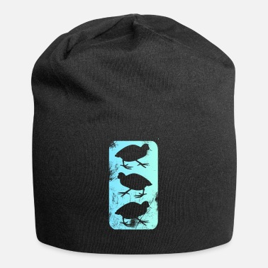 Onder Water Quail Coot - Jersey-Beanie