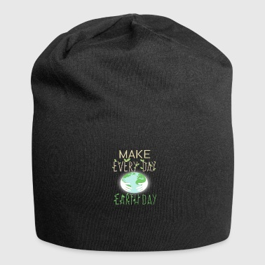 save the planet - Jersey Beanie