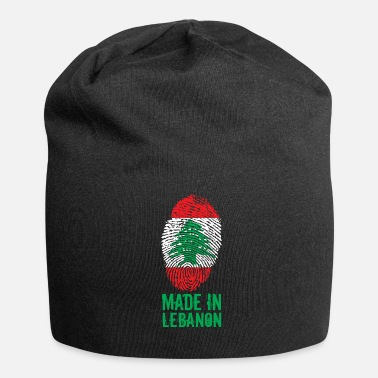 Lebanon Made in Lebanon / Made in Lebanon اللبنانية - Jersey Beanie