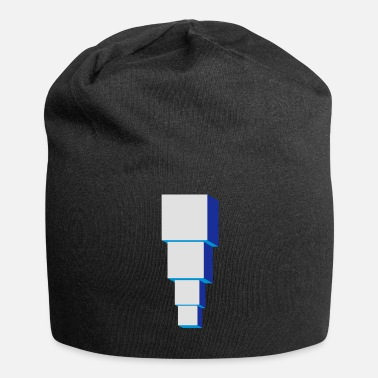 Optical Illusion Optical illusion illusion building - Jersey Beanie