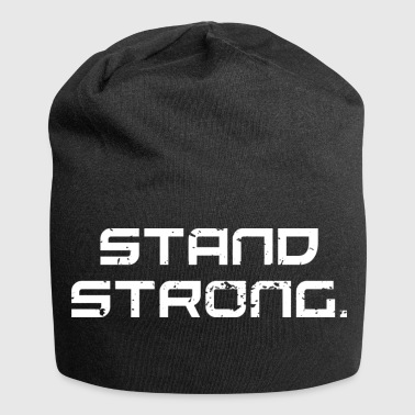 stand strong - Jersey-Beanie