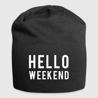 Weekend - Beanie in jersey