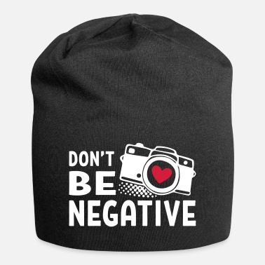 Do not Be Negative Camera - Beanie