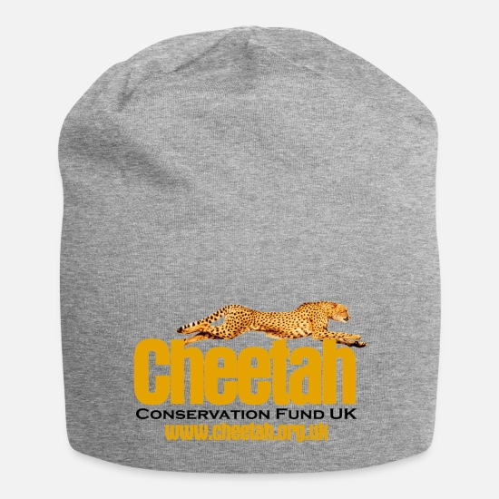 Cheetah Caps & Hats - Cheetah Conservation Fund UK - Beanie heather grey