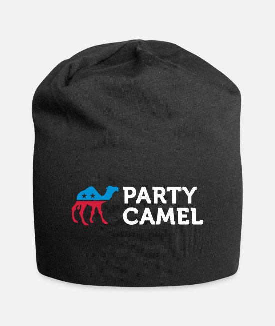 Usa Caps & Hats - Political Party Animals: Camel - Beanie black
