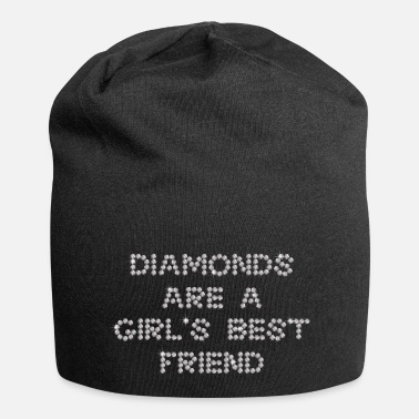 Ellenicoart Diamonds are a girl's best friend - Beanie