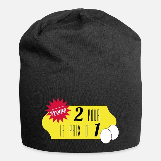 Twins Caps & Hats - 2 for the price of 1 - Beanie black